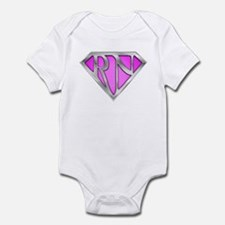 Super RN - Pink Infant Bodysuit
