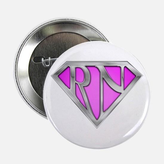 """Super RN - Pink 2.25"""" Button"""