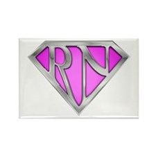 Super RN - Pink Rectangle Magnet