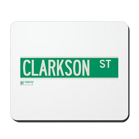 Clarkson Street in NY Mousepad