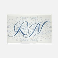 RN Fancy Graphic Nurse Rectangle Magnet (100 pack)