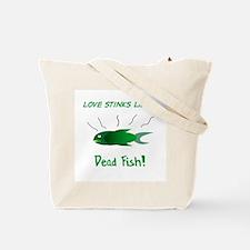 Cool Smells like fish Tote Bag