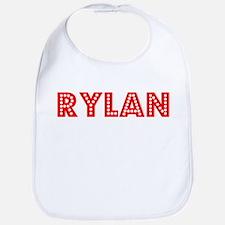 Retro Rylan (Red) Bib