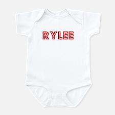 Retro Rylee (Red) Infant Bodysuit