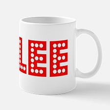 Retro Rylee (Red) Small Small Mug