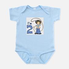 Cowboy Roper 2nd Birthday Infant Bodysuit