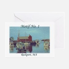 Motif No. 1 Greeting Card