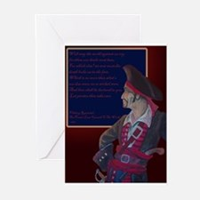 Pirate's Last Farewell Greeting Cards (Pack of 10)