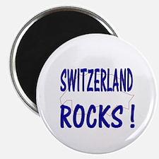 Switzerland Rocks ! Magnet