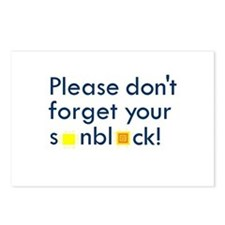 Please Don't Forget Postcards (Package of 8)