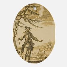 Blackbeard Keepsake (Oval)
