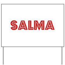 Retro Salma (Red) Yard Sign
