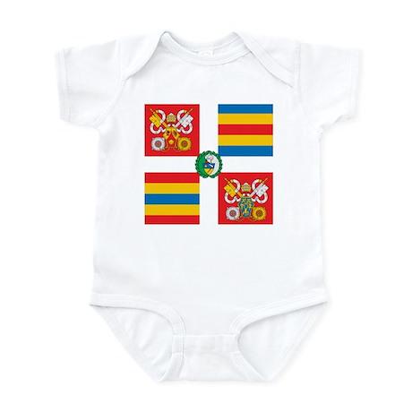 Swiss Guard Banner Infant Bodysuit