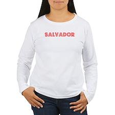 Retro Salvador (Red) T-Shirt