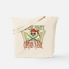 Captain Nasir Tote Bag
