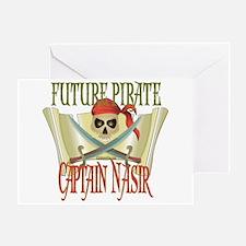 Captain Nasir Greeting Card