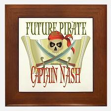 Captain Nash Framed Tile