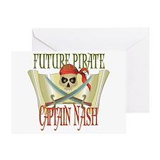 Captain Nash Greeting Card