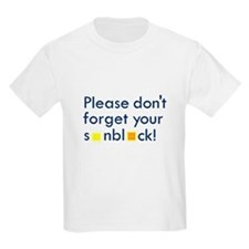 Please Don't Forget T-Shirt