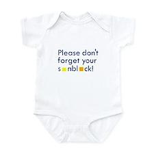 Please Don't Forget Infant Bodysuit