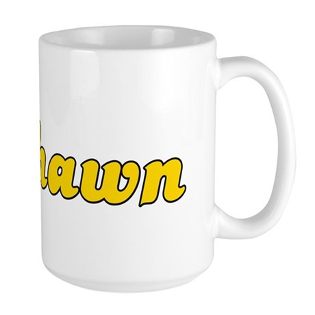 Retro Deshawn (Gold) Large Mug