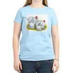 White Frizzle Cochins Women's Light T-Shirt