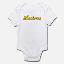 Retro Desiree (Gold) Infant Bodysuit