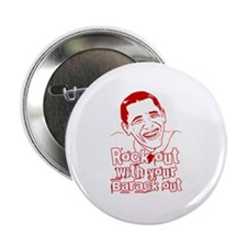 """Rock out with your Barack Out! Obama Rocks! 2.25"""""""