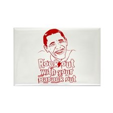 Rock out with your Barack Out! Obama Rocks! Rectan