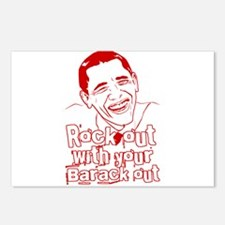 Rock out with your Barack Out! Obama Rocks! Postca