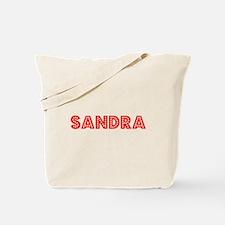 Retro Sandra (Red) Tote Bag