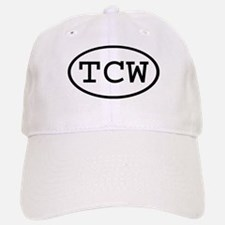 TCW Oval Baseball Baseball Cap