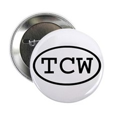 "TCW Oval 2.25"" Button"
