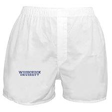 Woodchuck Boxer Shorts