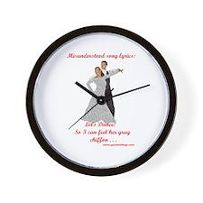 Let's Dance Wall Clock