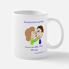 Kiss this guy Small Small Mug