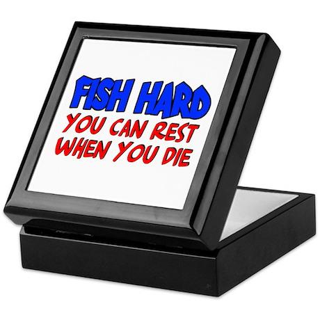 Fish Hard Keepsake Box
