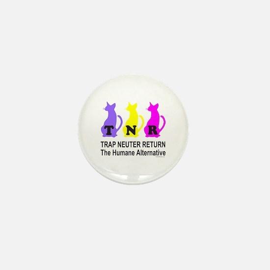 TRAP NEUTER RETURN Mini Button