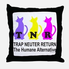 TRAP NEUTER RETURN Throw Pillow