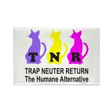 TRAP NEUTER RETURN Rectangle Magnet (10 pack)