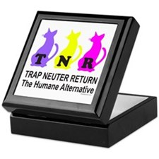 TRAP NEUTER RETURN Keepsake Box
