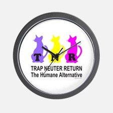 TRAP NEUTER RETURN Wall Clock