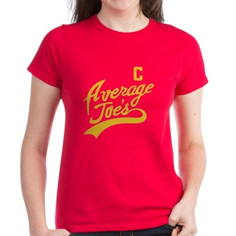 Average Joe's Gold Women's Dark T-Shirt