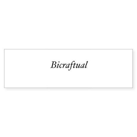 Bicraftual Bumper Sticker