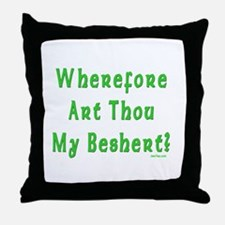 Where is My Beshert Throw Pillow