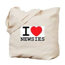 I Love Newsies Tote Bag