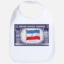 Flag of Yugoslavia Bib