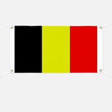 Belgiun Flag 1 Banner