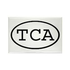 TCA Oval Rectangle Magnet