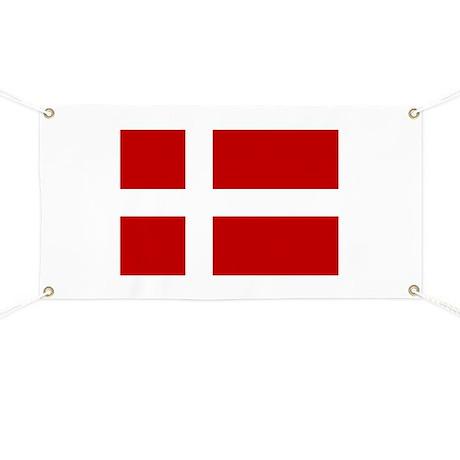 Danish Flag Banner